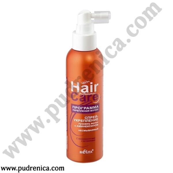Спрей-укрепление луковиц волос несмываемый