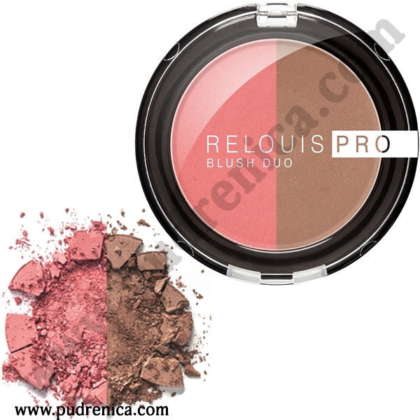 Румяна компактные - Relouis Pro Blush Duo