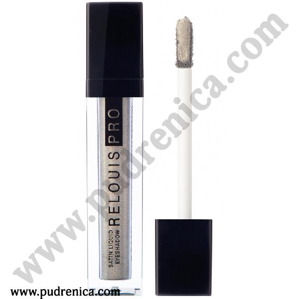 Тени для век жидкие сатиновые Relouis Pro Satin Liquid Eyeshadow
