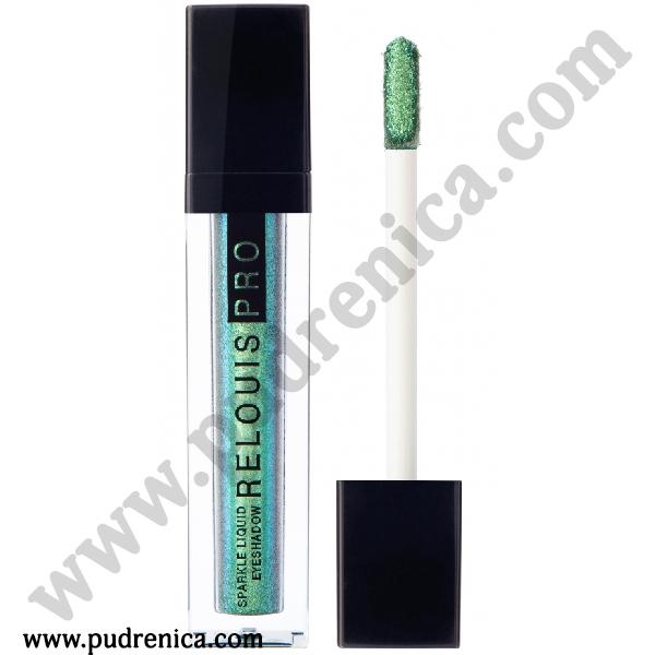 Тени для век жидкие сияющие Relouis Pro Sparkle Liquid Eyeshadow