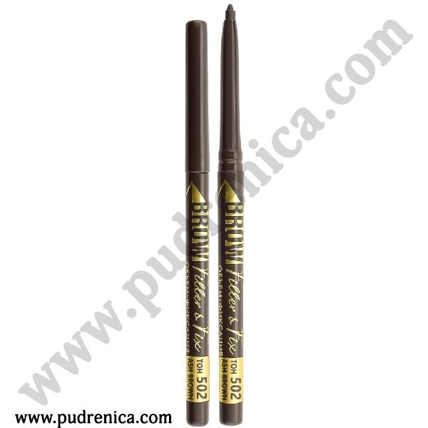 Механический карандаш для бровей Luxvisage Brow Filler & Fix