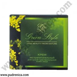 Крем экстрапитательный для сухой чувствительной кожи лица (ночной)