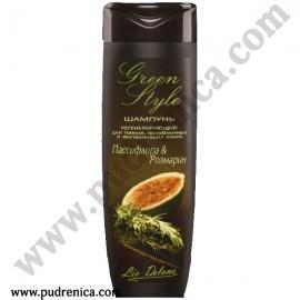 Регенерирующий шампунь «Пассифлора&Розмарин» для тонких, ослабленных и выпадающих волос