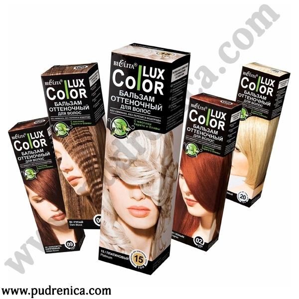 """Оттеночный бальзам для волос """"COLOR LUX"""""""
