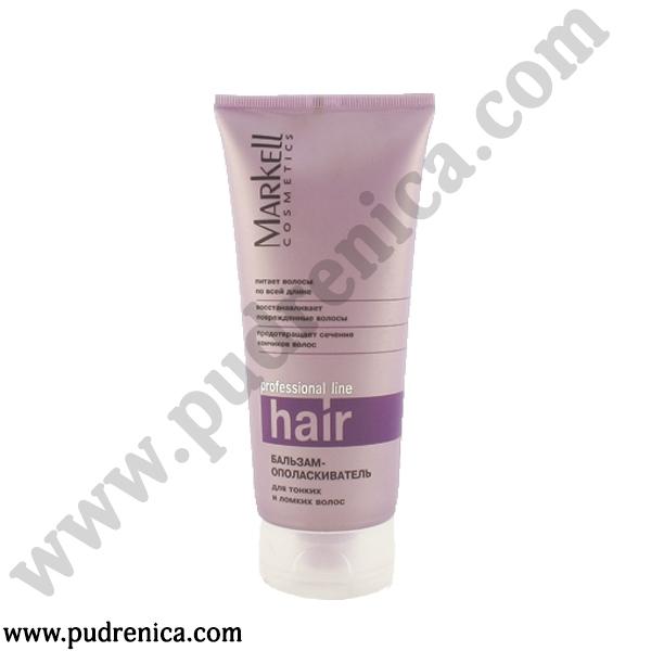 Бальзам-ополаскиватель для тонких и ломких волос