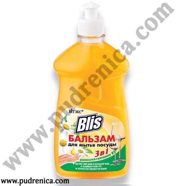 Бальзам для мытья посуды 3в1 Ромашка + Витамин В5