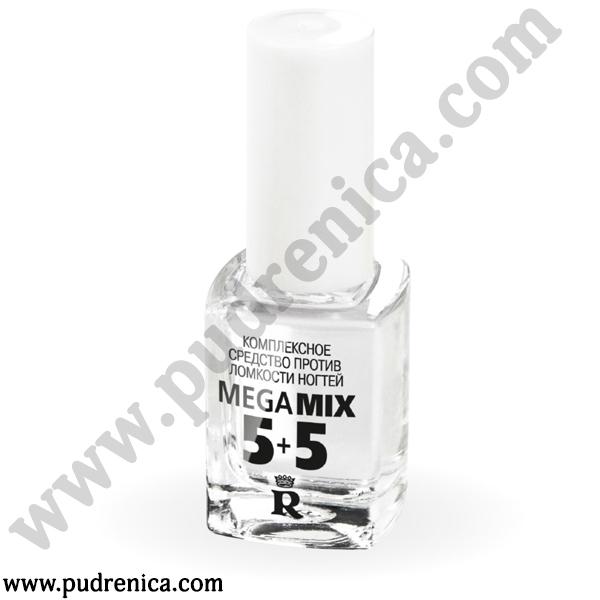 Комплексное средство против ломкости ногтей Mega Mix 5+5