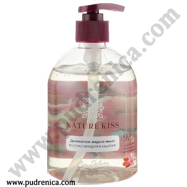 Деликатное жидкое мыло МИНДАЛЬ & КАШЕМИР
