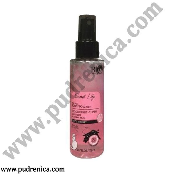 Дезодорант-спрей для тела Розовая вуаль