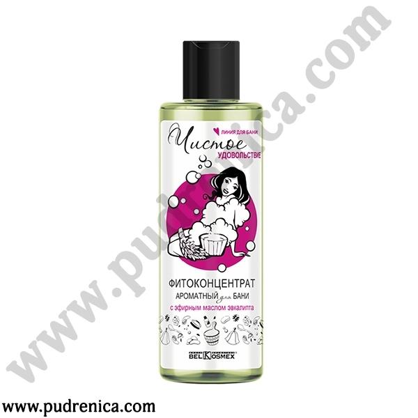 Фитоконцентрат ароматный для бани с эфирным маслом эвкалипта