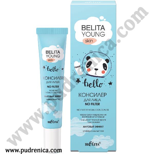 Консилер для лица «NO FILTER» HD Bielita Young Skin