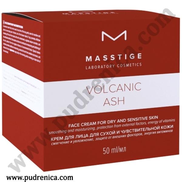 Крем для лица для сухой и чувствительной кожи Masstige Volcanic Ash