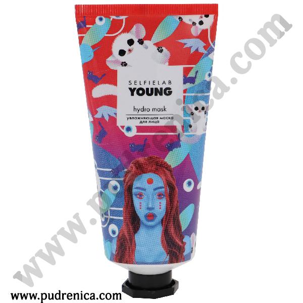 Маска для лица hudro mask увлажняющая YOUNG Selfielab