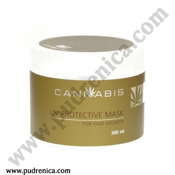 Маска для роста волос з защитой от ультрафиолета с экстрактом каннабиса  UV Protective Mask for Hair Growth