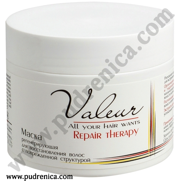 Маска регенерирующая для восстановления волос с поврежденной структурой