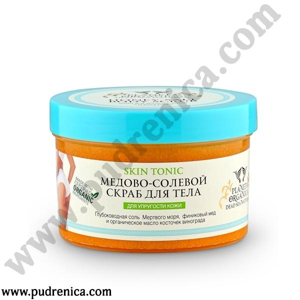 Медово-солевой скраб для тела