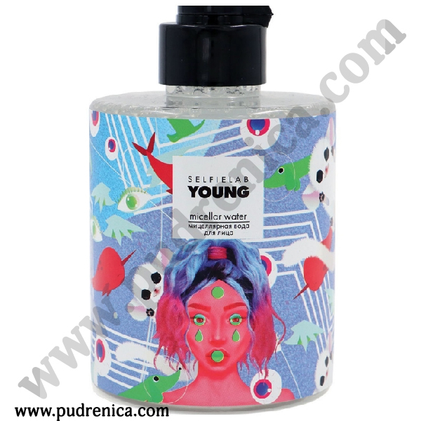 Мицеллярная вода, 300 мл YOUNG Selfielab