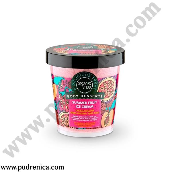 Очищающий крем-пилинг для тела «Summer Fruit Ice Cream»