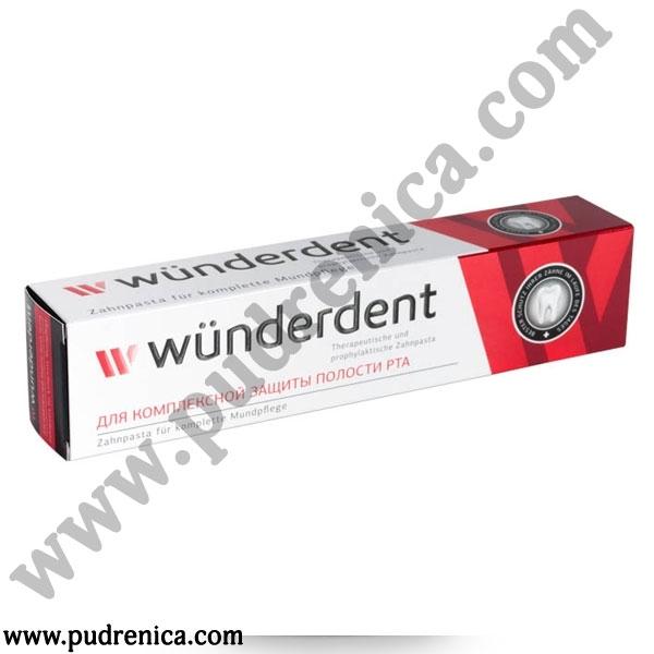 Паста зубная WÜNDERDENT для комплексной защиты полости рта