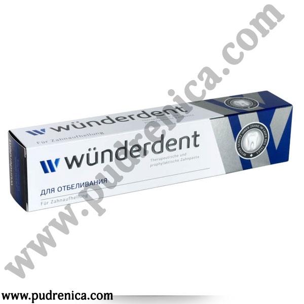 Паста зубная WÜNDERDENT для отбеливания