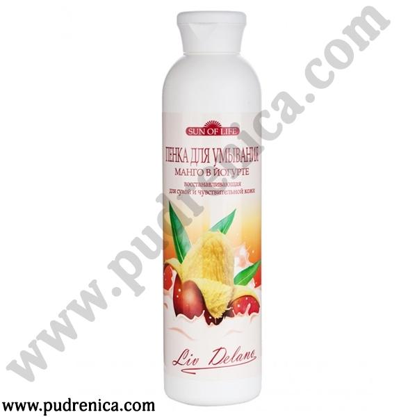 Пенка для умывания «Манго в йогурте» восстанавливающая, для сухой и чувствительной кожи