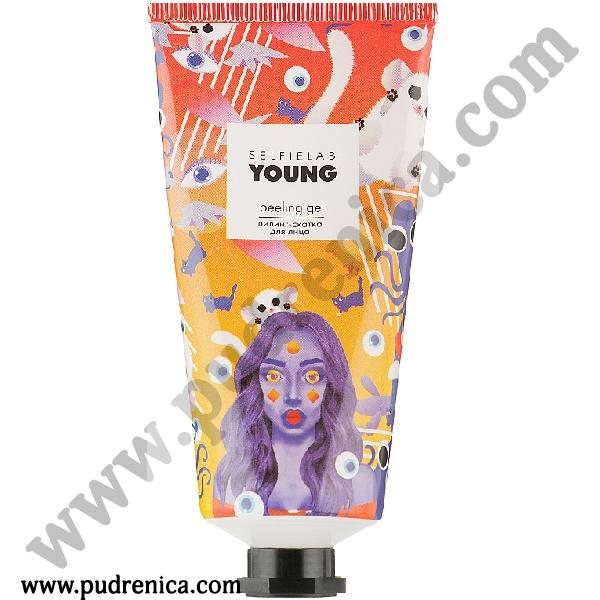 Пилинг-скатка для лица peeling gel YOUNG Selfielab