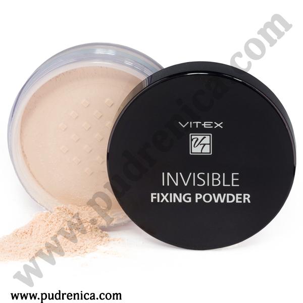 Рассыпчатая пудра для лица VITEX INVISIBLE FIXING POWDER Тон универсальный