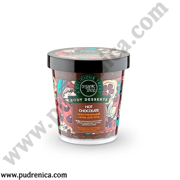Разогревающий скраб для тела  «Hot Chocolate»