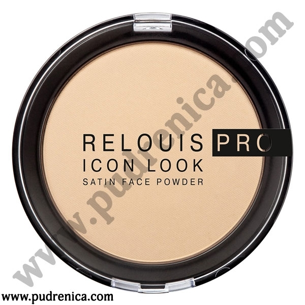 RELOUIS PRO ICON LOOK SATIN FACE POWDER