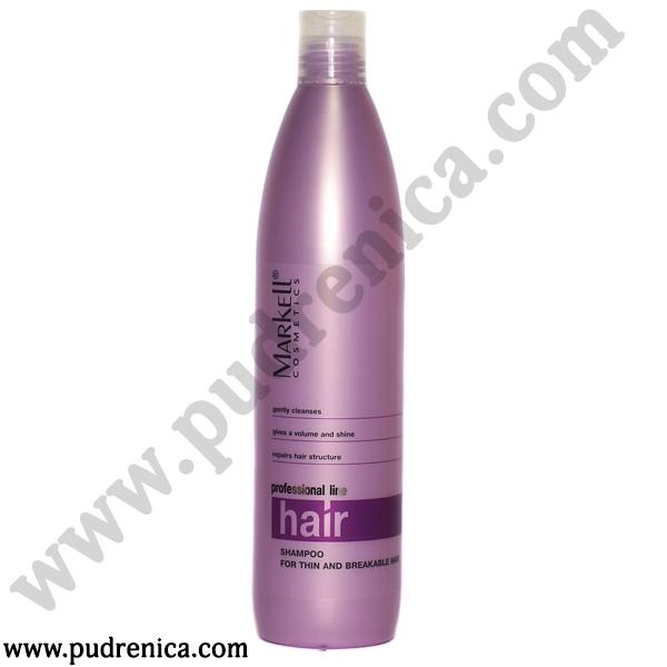 Шампунь  для тонких и ломких волос