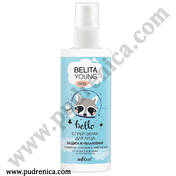 Спрей-экран «Защита и увлажнение» для лица Bielita Young Skin