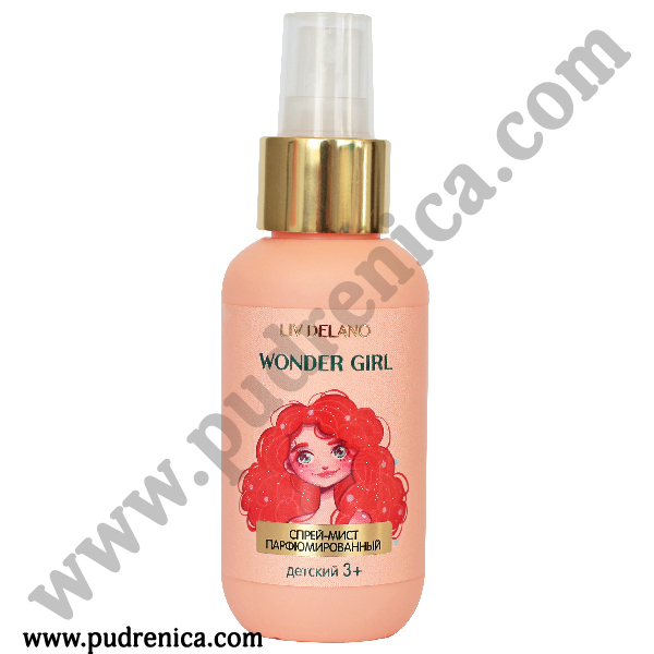 Спрей-мист детский 3+ парфюмированный Wonder Girl Liv Delano