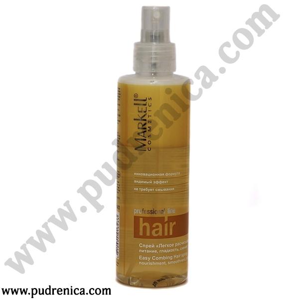 Спрей «Легкое расчесывание волос» питание, гладкость, сияние