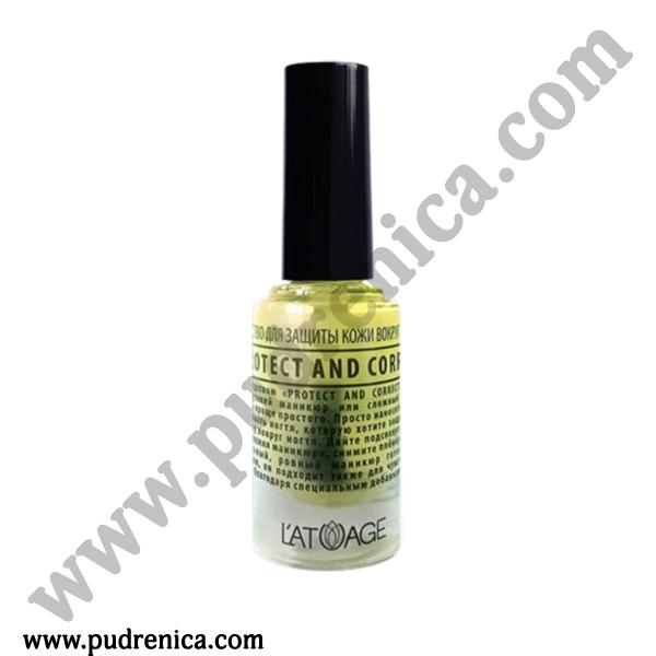 Средство для защиты кожи вокруг ногтя «PROTECT AND CORRECT»