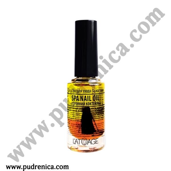 Средство по уходу за ногтями L'ATUAGE SPA NAIL OIL «УТРЕННИЙ КОКТЕЛЬ»